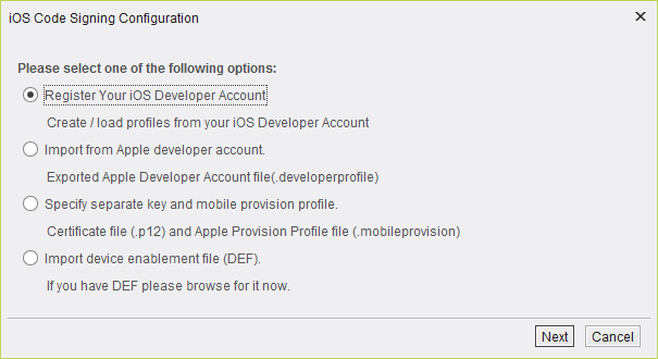 AS - iOS Profile Management and Creating Certificates And