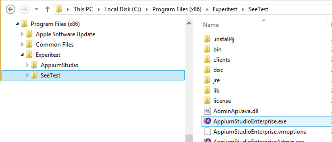 Appium Studio Installation - Experitest - Test Development